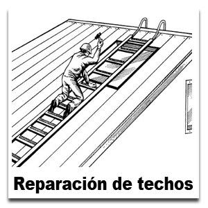 Reparación de techos en Tenerife